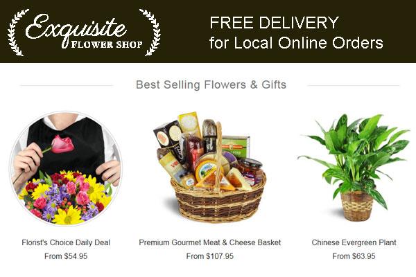 Exquisite Flower Shop Los Angeles