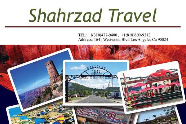 Shahrzad Travel Los Angeles