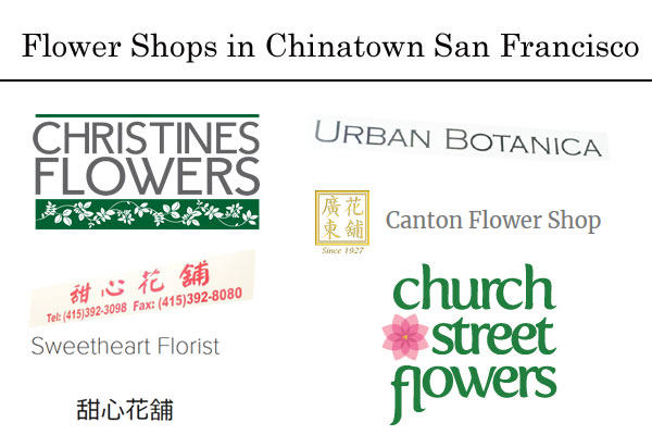 Flower Shop Chinatown San Francisco