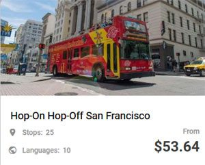Hop-On Hop-Off San Francisco
