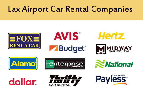 Lax Airport Car Rental Companies
