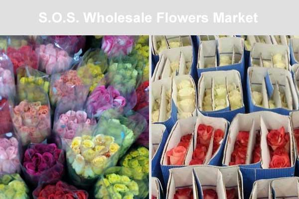 SOS Flowers Market