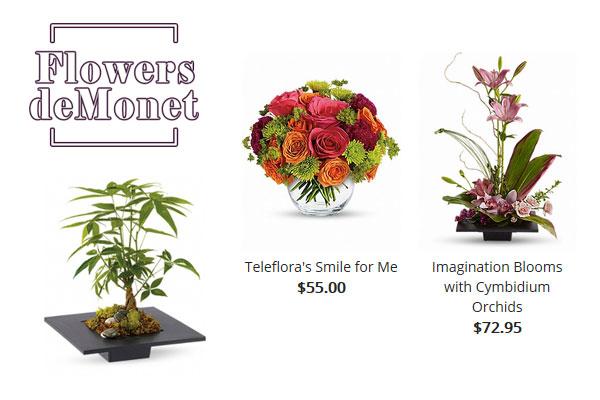 Flowers De Monet Newport Beach