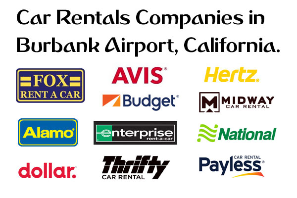 Burbank Bob Hope Airport Car Rentals