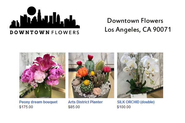 Downtown Flowers Net Los Angeles