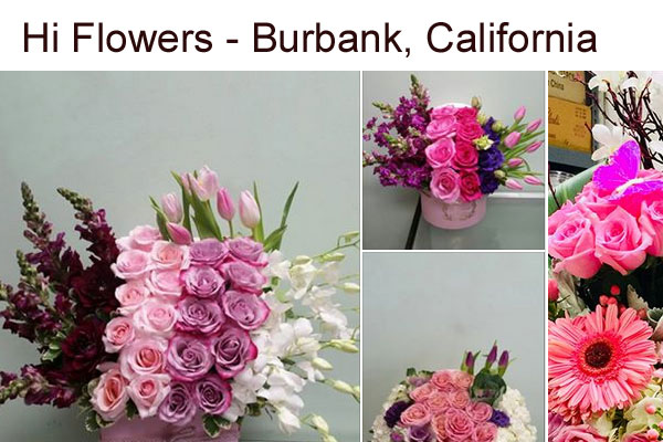 Hi Flowers Burbank California