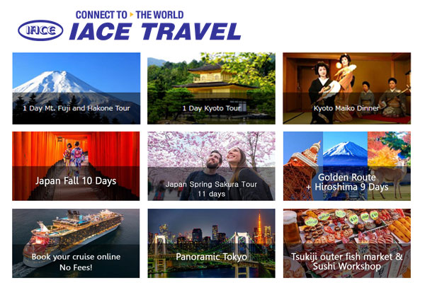 IACE Travel California
