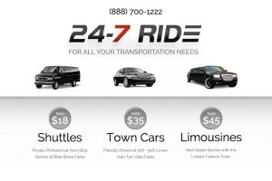 24-7 Ride Shuttle Los Angeles