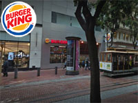 Burger King Powell St SF