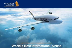 Singapore Airlines - Worlds Best Int Airline
