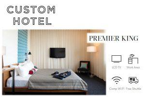 Custom Hotel LA Premier King Room