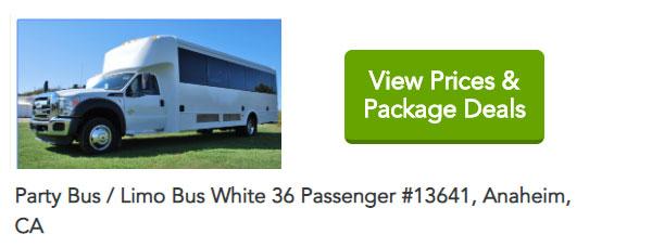 Party Bus Anaheim CA