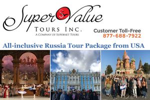 Russia Tour Package from USA