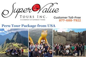 Super Value Tours Inc Peru Tour