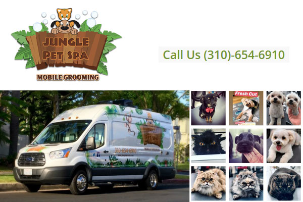 Jungle Pet Spa Mobile Dog Grooming Los Angeles