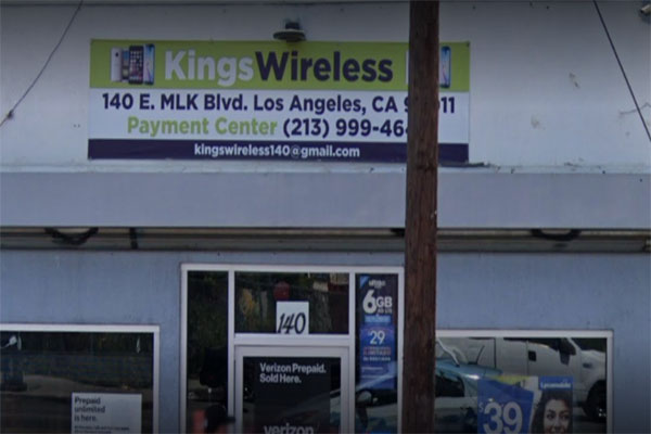 Kings Wireless Payment Center Phone Repair CA 90011