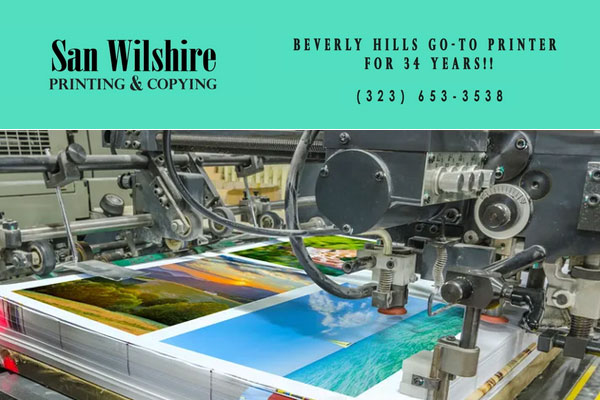 San Wilshire Printing Beverly Hills