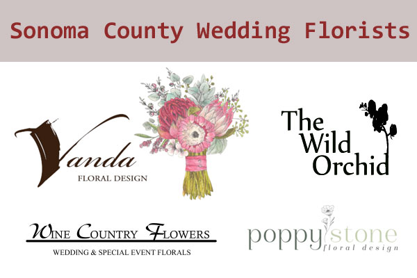 Sonoma County Wedding Florists