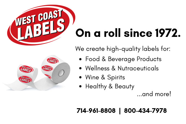 West Coast Labels California
