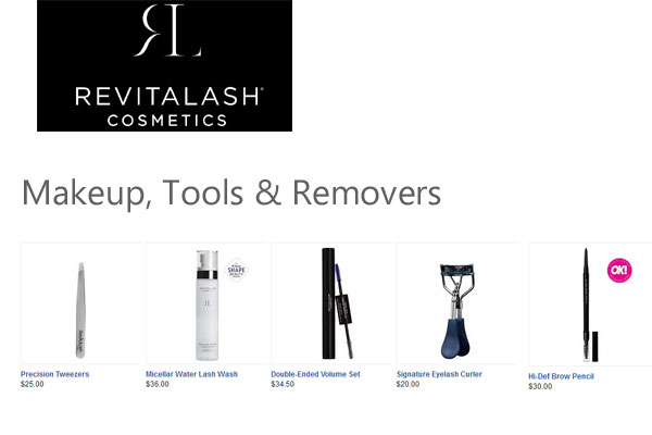 RevitaLash Cosmetics Makeup Tools Removers
