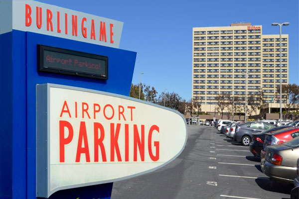 Burlingame Airport Parking SFO PARK BAP