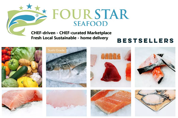 FOUR STAR Seafood San Francisco