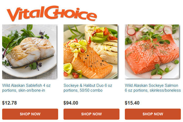 Vital Choice Wild Seafood and Organics