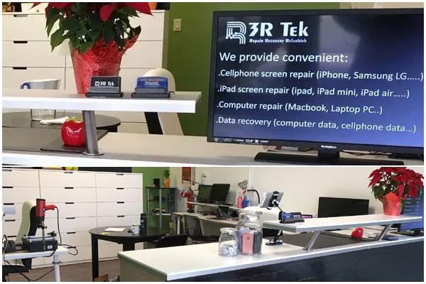 3R TEK phone repair shop El Cerrito California