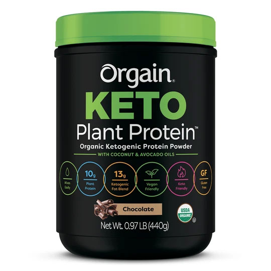 Keto Plant Protein Organic Keto-genic Protein Powder