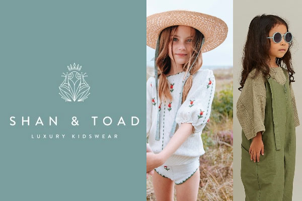 Shan and Toad Luxury Kidswear